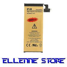 Batteria IPHONE 4S 2680mAH MAGGIORATA Gold - ZERO CICLI