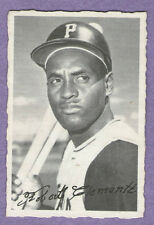 1969 OPC Deckle O-PEE-CHEE Single Roberto Clemente Pittsburgh Pirates