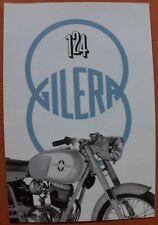 MOTO GILERA 124 Arcore Milano 1959 prospetto Italia moto auto d'epoca da collezione