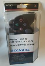 Playstation 3 Sixaxis Wireless Controller Factory Sealed PS3 SIXAXIS