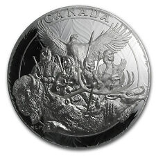 2014 Canada 5 kilo Silver National Aboriginal Veterans Monument - SKU #85594