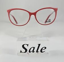 New Love Moschino Pink Eyeglasses Rx Glasses ML079V04  54-16-140