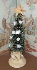BYERS CHOICE CAROLER Nautical Christmas Tree Shells and Starfish 2018 *