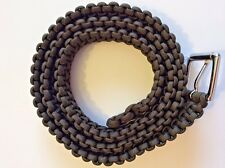 BELT BROWN PARACORD HANDMADE BEAUTIFUL COLOR!!  ANY SIZE