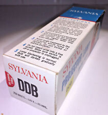 Sylvania Blue Top DDB / DDW bulb 750w 120v, boxed, for slide & cine projectors
