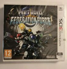 METROID PRIME FEDERATION FORCE NINTENDO 3DS NEW FACTORY SEALED GAME