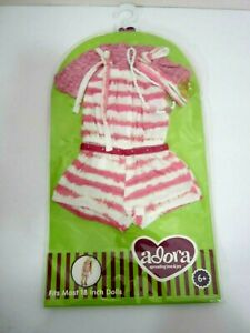 New ADORA California Sun 2 Doll Outfit Pink Romper Jumpsuit