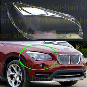 FIT For BMW X1 E84 2010-15ss 1Pcs Right Side Headlight Cover Replacement + Glue