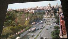 Spain Madrid panoramica de la Calle de Alcala 76 - used 1964