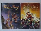 Set de 2 BD TROLLS de TROY - Tomo 1 y 2 - Edition Soleil - Arleston & Mourier
