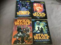 4x Star Wars Buch von Goldmann u.a Krieg der Sterne, Das Imperium schlägt zurück