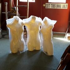 Three New Torso Mannequin Forms