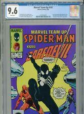 1984 MARVEL TEAM-UP #141 1ST APPEARANCE BLACK COSTUME SPIDER-MAN CGC 9.6 BOX5