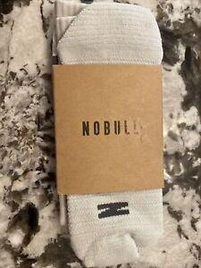 NOBULL CREW SOCK MEDIUM UNISEX NIP GREY/DARK GREY