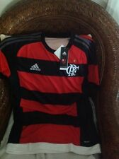 adidas 2015 flamengo CRF brasil soccer futbol jersey new with tags size L mens