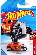 32 FORD #129 orange - 2018 Hot Wheels - F Case - Worldwide