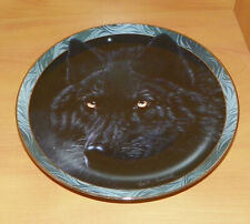 Collector Plate Wolf Midnight Magic Mystic Spirit Collection Wolves