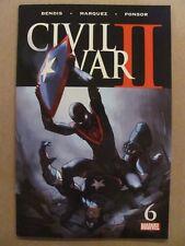 Civil War II #6 Marvel Comics 2016 Series Bendis 9.2 Near Mint-