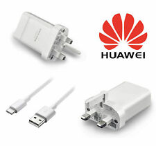 Genuine Huawei Quick Charge UK Mains Adaptor Plug Charger 2.0A 5V & Type-C Cable