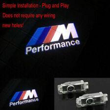 2Pcs BMW Car Door LED Light M Logo Projector Easy Installation Emblem Ghost HD