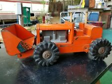 Structo Front Front End Loader Pressed Metal Toy 340 Road Construction