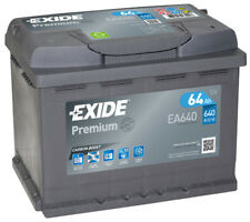 Batteria auto EXIDE EA640 64AH ampere 640A dx Premium cod. 3661024034227
