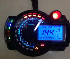 15000rpm Motorcycle Universal LCD Digital Speedometer Tachometer Odometer