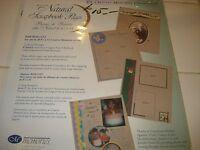 CREATIVE MEMORIES 8 1/2 x 11 NATURAL REFILL PAGES NIP
