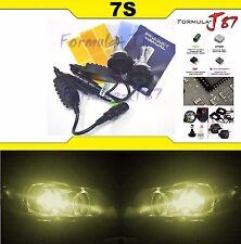 LED Kit 7S 50W 9005XS HB3A 3000K Yellow Head Light Two Bulbs High Beam Upgrade