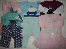 Baby Girl 3-6M 6M Fall Winter Spring Clothes Outfit Lot 3/6 Months FREE SHIPPING