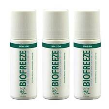 Biofreeze 3 oz. Roll-Ons 3 Pack