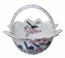 New Fine Bone China Australia Bird Blue Wren Basket Boxed Mother's Day Gift