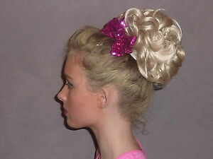 LILY IRISH DANCING BUN WIG - AVAILABLE IN MULTIPLE COLOURS