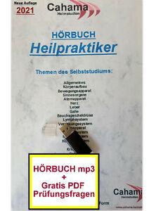 Heilpraktiker HÖRBUCH MP3, Selbststudium Prüfungswissen für die Ausbildung, USB