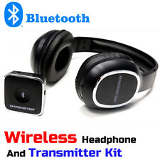Monster HDTV Bluetooth Wireless Over-the-Ear Headphones with Transmitter Kit