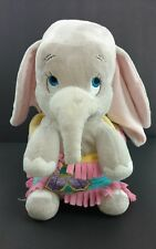 Disney Parks Baby Dumbo Disney Babies in a Blanket Authentic Parks Plush Gray