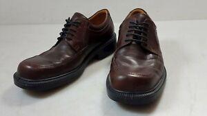 ECCO Brown Leather Derby Shoe Men's 41/8Size