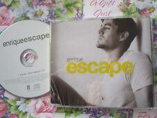 Enrique Iglesias Enrique - Escape Interscope Records EICDP3 stickeredCD Single