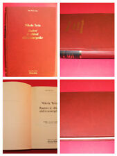 NIKOLA TESLA WORKS IN THE FIELD OF ELECTRICAL ENGINEERING 1988 UNIQUE EXYU BOOK