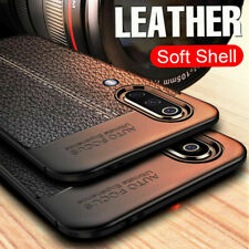 For Samsung Galaxy A70 A50 A40 30 Rubber Back Case Soft Shockproof Leather Cover