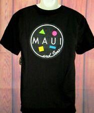 MENS MAUI AND SONS BLACK T-SHIRT SIZE L