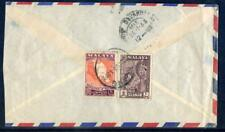Cover from Klang, Selangor to Southern India as scanned (2018/05/16/#09)