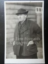 Old RPPC - Netherlands: Zuid-Beveland (Zeeland) Image of a Local Man