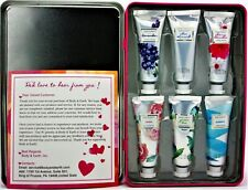 BODY & EARTH 6pc Gift Box of Hand Moisturizing Lotion w/Shea Butter 1oz each L1