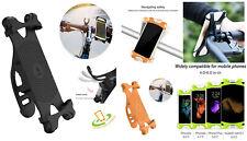 Motorcycle Bike Phone Mount Holder Universal Adjustable Bicycle Handlebar Rack