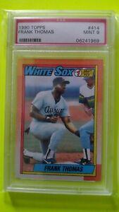 1990 Topps Frank Thomas RC PSA 9 Mint Chicago White Sox A's Blue Jays Rookie HOF