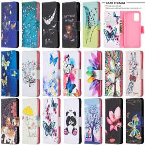 For Samsung Galaxy S21 S20 FE A21S A11 A21 Wallet Flip Leather Phone Case Cover