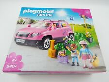 Playmobil 9404 City Life Family Car with Parking Space Set (2018) NEW