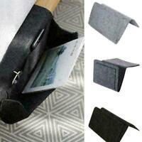 Hanging Bag Bedside Storage Organizer Holder Bed Pocket Caddy Phone 20 Sofa W7Y3