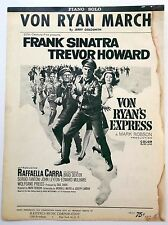 Film Sheet Music VON RYAN MARCH Frank SINATRA Hastings Publ.1965 Piano SOLO